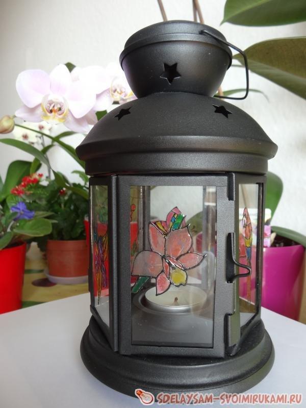 Волшебное украшение фонарика