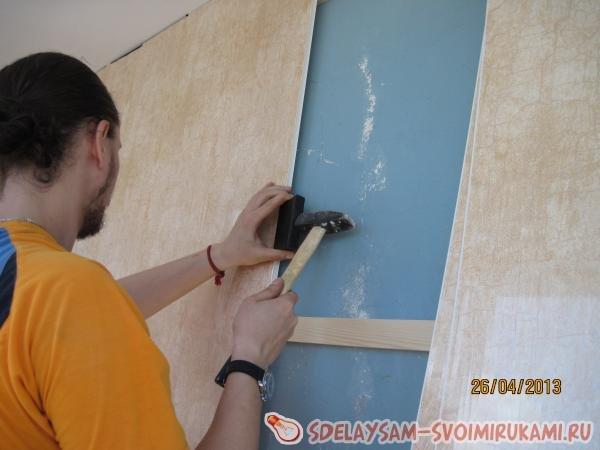 Утепление балкона и отделка его ПВХ-панелями