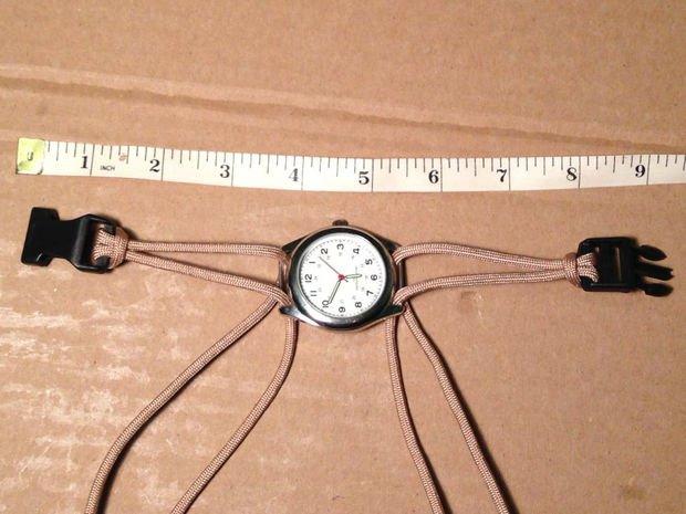 Потрясающий ремешок для наручных часов из веревки