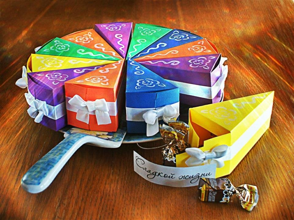Коробочка конфета своими руками