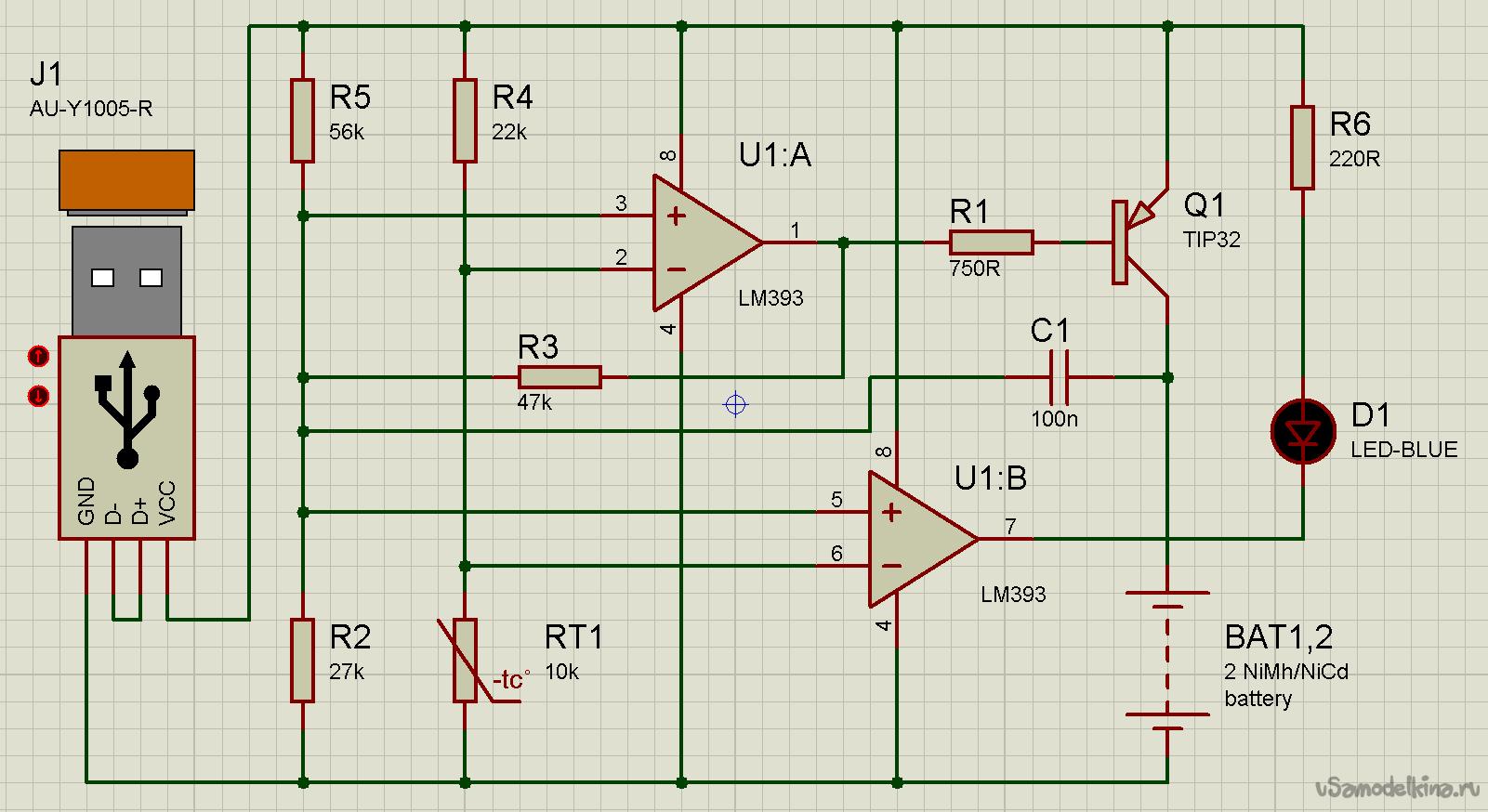 Зарядка для ni-cd аккумуляторов своими руками