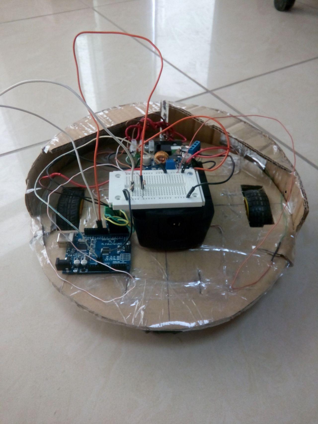 Как сделать робот пылесос своими руками фото 864