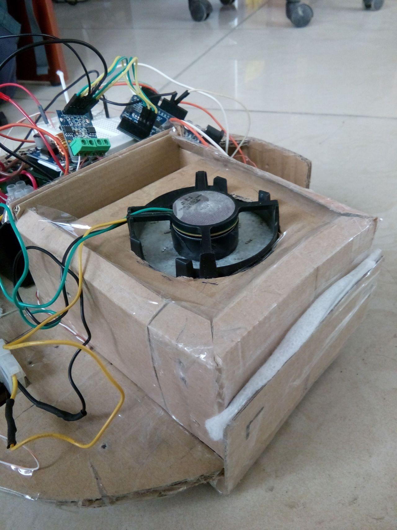 Робот пылесос турбина