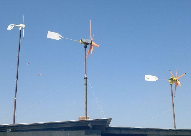 Ветрогенератор от «Мото-26»