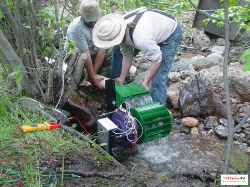Своими руками электрогенератор водный