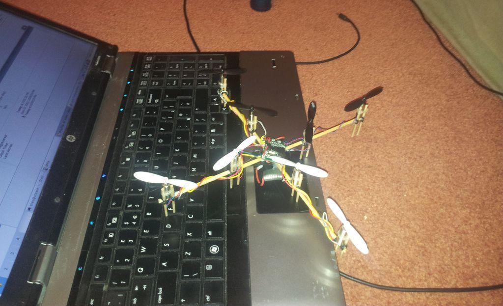 Управление квадрокоптером с компьютера посмотреть фронтальная камера mavic combo