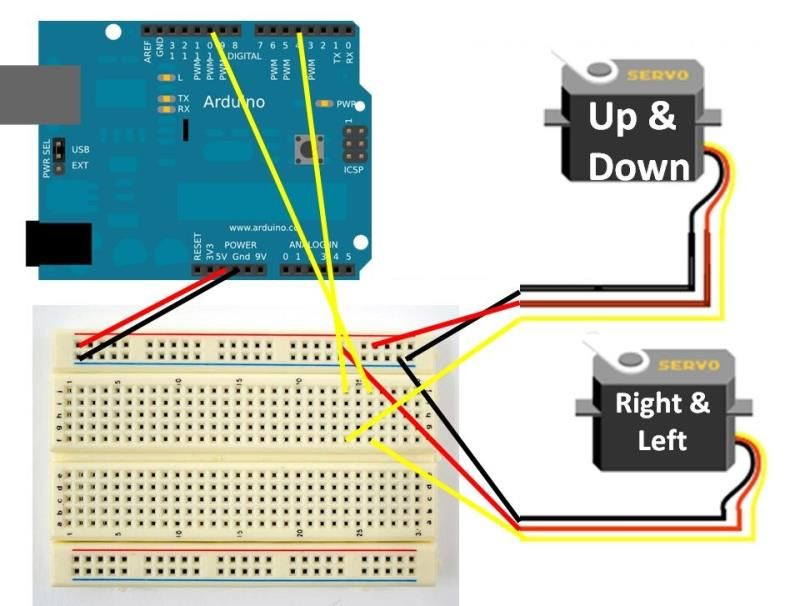 Controlling a Servo with Arduino Lucky Larry