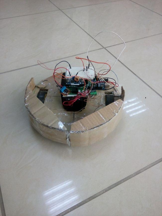 Собираем робот-пылесос на Arduino