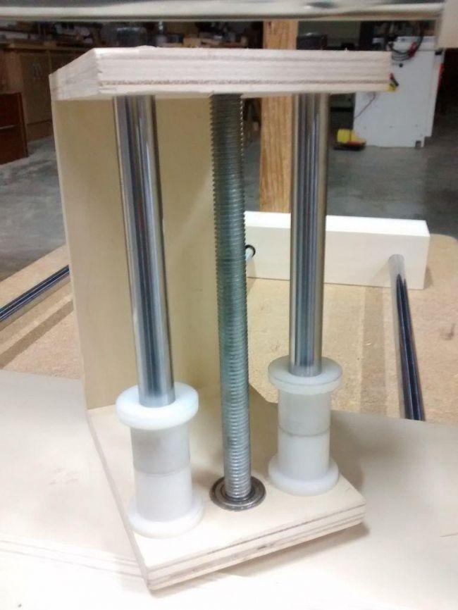 Изготовление станка CNC из дерева на базе Arduino