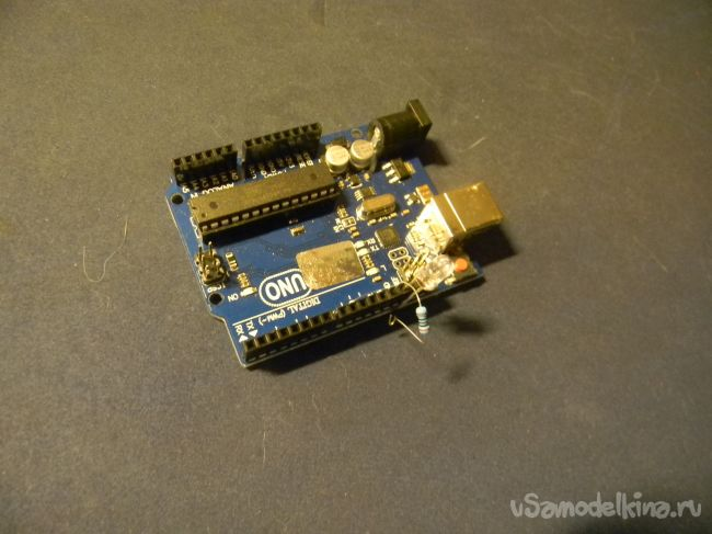 Мигающий светодиод (Arduino)