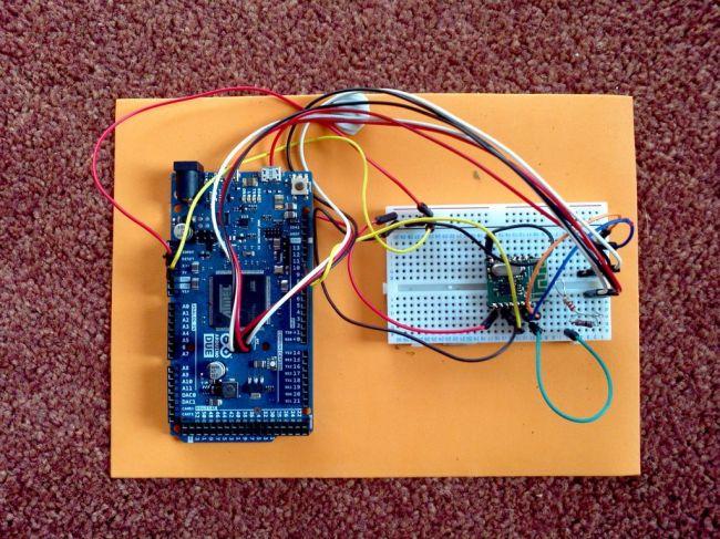 Относительно дешевый Quadcopter на Arduino с управлением от телефона, планшета, ПК