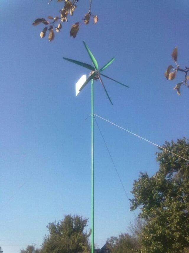Как сделать аксиальный ветрогенератор