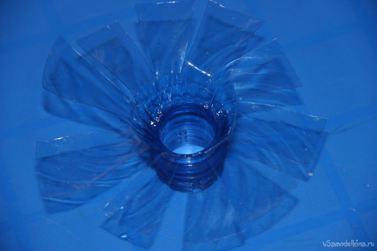 Пропеллер из пластиковых бутылок