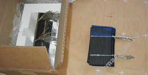 Небольшая самодельная солнечная панель на 50 Вт