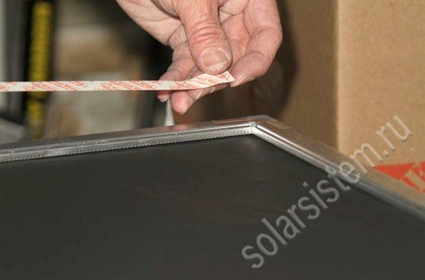 Делаем оконный воздушный солнечный коллектор