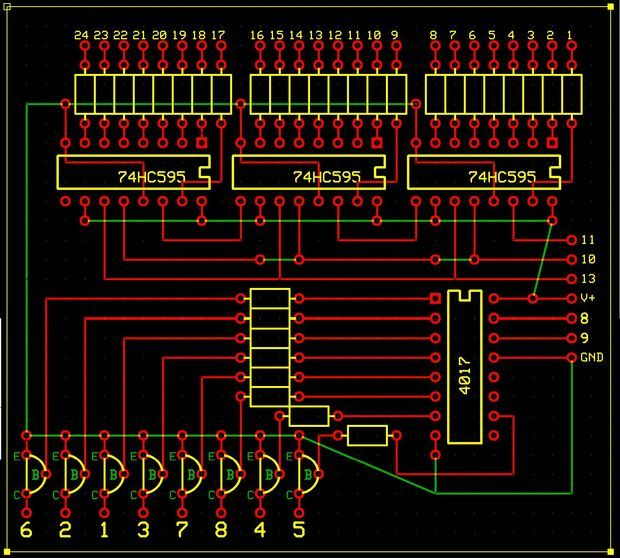 Arduino 8x8 LED Matrix Tutorial with Circuit Diagram