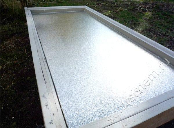 Старая дверь - отличный способ сделать солнечный воздушный коллектор