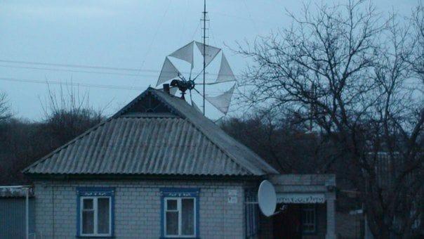 Парусный ветрогенератор своими руками