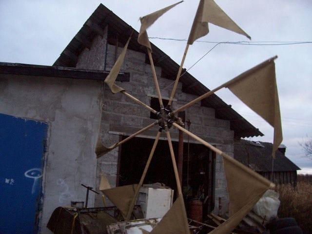 Парусный ветрогенератор «Водокачка»