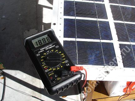 Как сделать солнечную батарею на 60 Вт