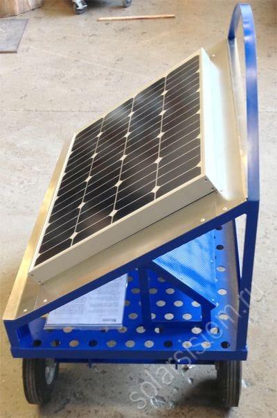 Как сделать солнечную электростанцию своими руками из  142