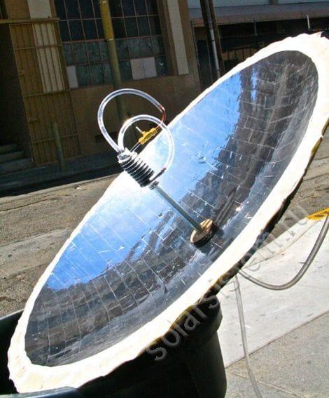 Солнечный концентратор для нагрева воды
