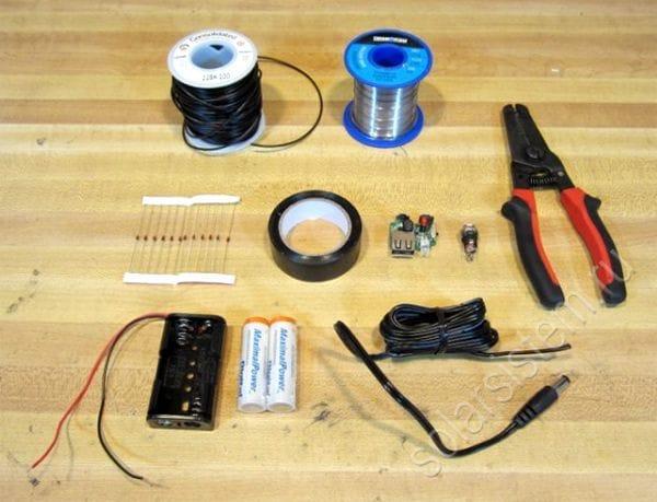 Как сделать зарядное из батареек