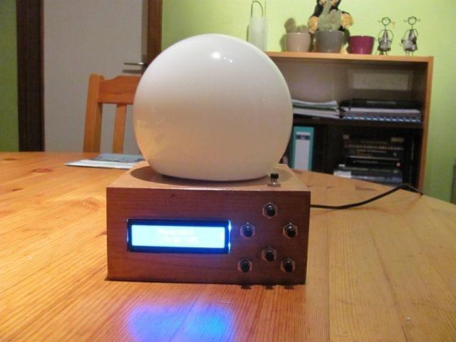 Светильник-будильник на Arduino