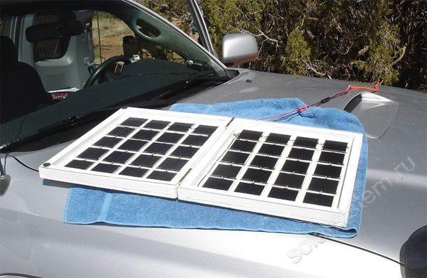 Походный вариант 15 Вт солнечной батареи