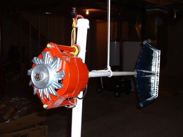Что можно сделать из автомобильного генератора