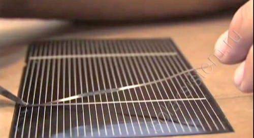 Пайка солнечных элементов в домашних условиях