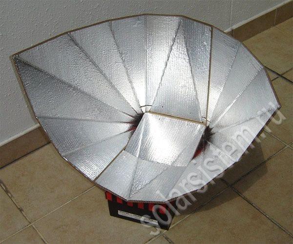 Походная солнечная печь