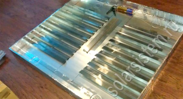 Оконный солнечный воздушный коллектор