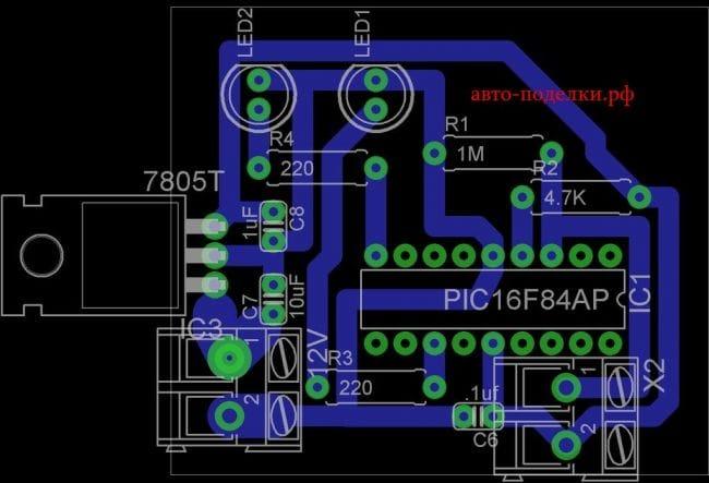 Индикатор контроля уровня охлаждающей жидкости