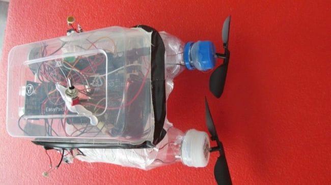 Лодка на Arduino с датчиками
