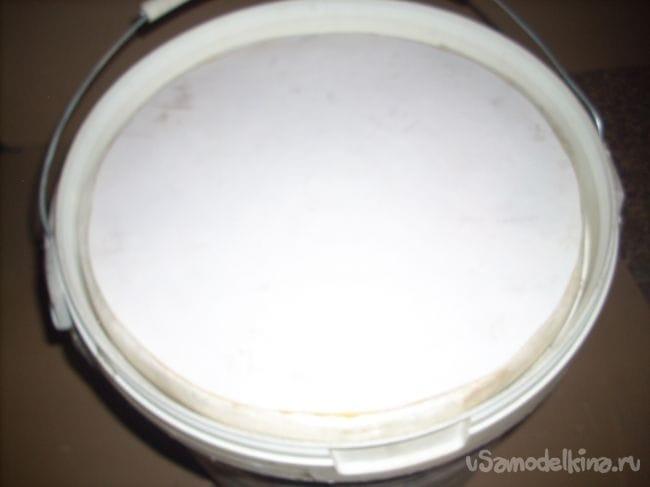 Контейнер-холодильник из технических вёдер