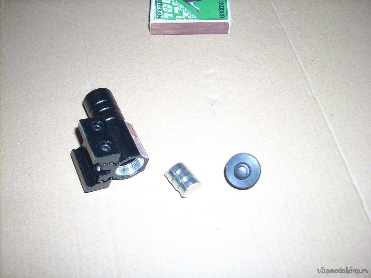 Лазерный прицел для пневматики своими руками фото 303