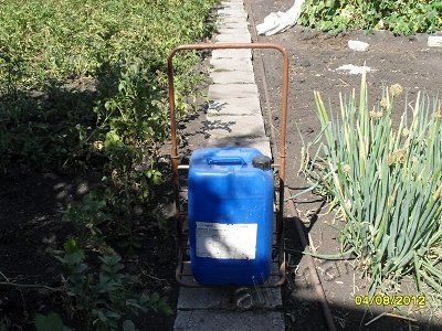 Тачка для садовых дорожек