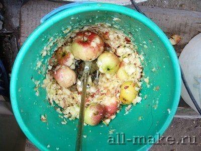 Соковыжималка для яблок из стиральной машины своими руками