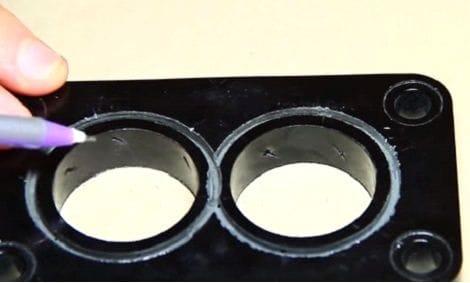 Завихритель воздуха для карбюраторного двигателя своими руками