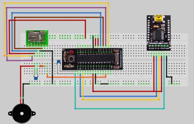 Как собрать простой плеер из Arduino и SD-ридера