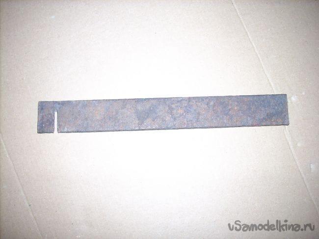 Пила для газосиликатных блоков из двуручной пилы
