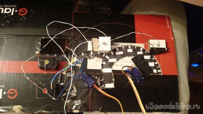 Приборная панель для ETS 2 на Arduino UNO R3