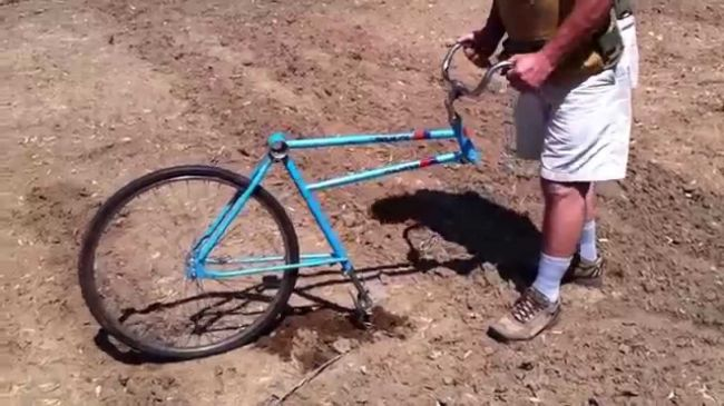 Как из велосипеда сделать культиватор