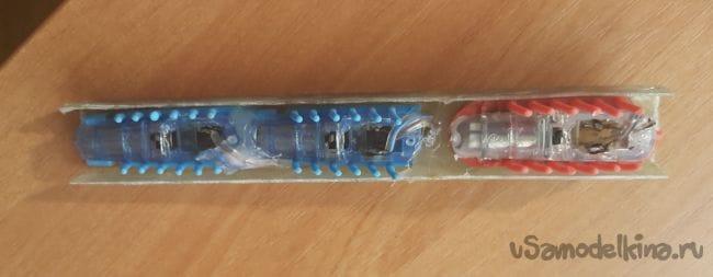«Вибро муравьи» для многофункционального робототехнического комплекса «Антей»