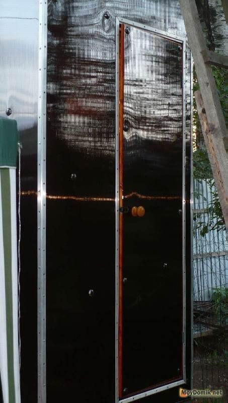 Дверь для душа из поликарбоната