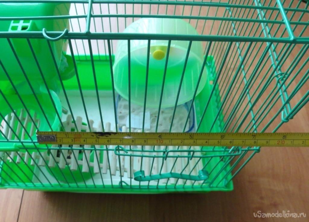 Как сделать второй этаж в клетке для хомяков