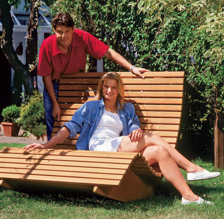 Кресло-качалка для двоих на дачу своими руками