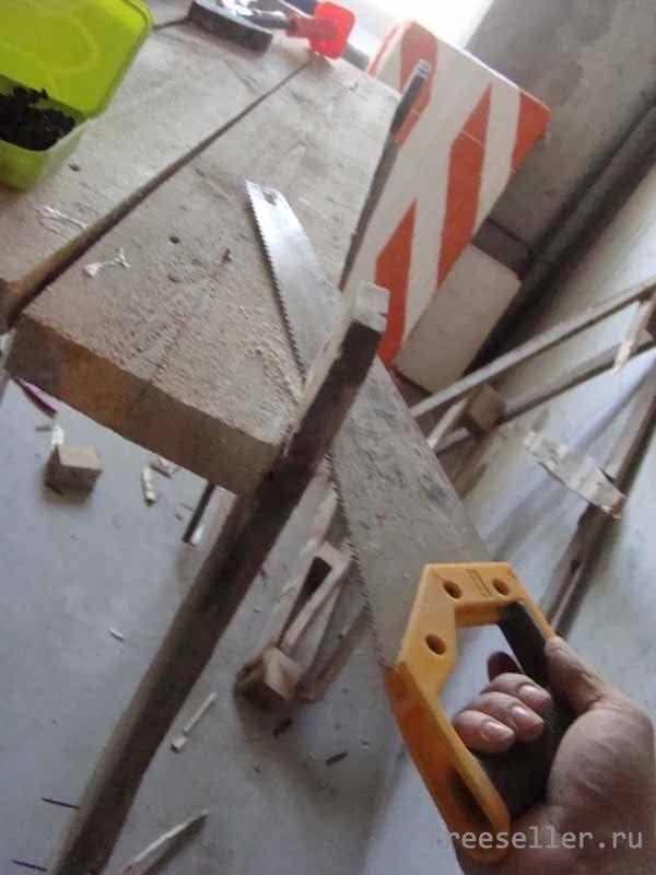 Строительный козлик из поддонов своими руками