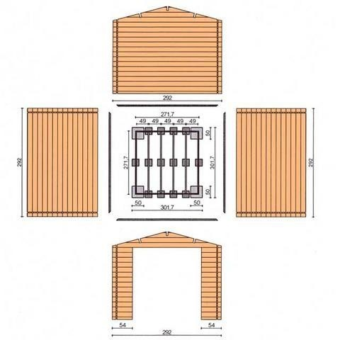 Строительство садового домика